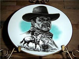 John Wayne In Memory Of A Great American John Wayne Duke Plate