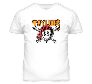 Wiz Khalifa Taylor Gang Pirate Smile Face White T Shirt