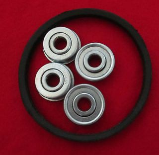 Rock Tumbler repair Kit Bearings and belt kit MJR 15 lb capacity
