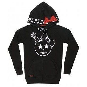 FDW Women Abbey Dawn Avril Lavigne Time Bomb Black Hoodie Hoody Jacket