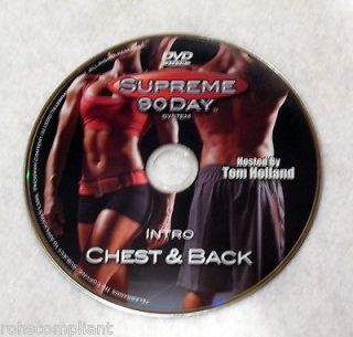 SUPREME 90 DAY WORKOUT   Intro + Chest & Back   New DVD   Shot In HD