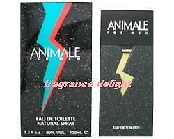 New Animale For Men EDT Cologne 3.4 oz 100ml spray In Retail Box