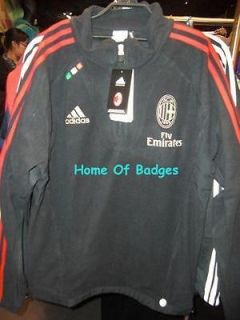 AC MILAN 2011 12 SOCCER FOOTBALL TRAINING FLEECE JACKET V11696 SHIRT