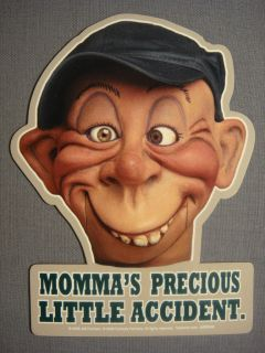 JEFF DUNHAM BUBBA J MOMMAS ACCIDENT CAR MAGNET NEW