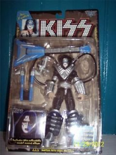 LOOK  KISS ACE FREHLEY McFARLINE TOYS SERIES 2 1998 SOLO ALBUMS