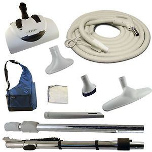 Newly listed Vacuflo Edge Power head and hose Kit for central vacuums