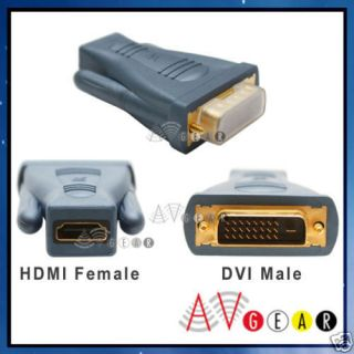 Acoustic Research HDMI Female to DVI D Male Adapter NEW