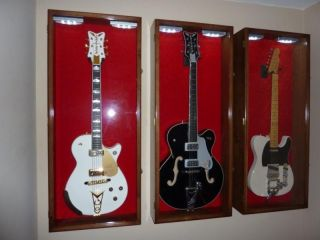 Electric / Fender / Acoustic Guitar Display Case Rack