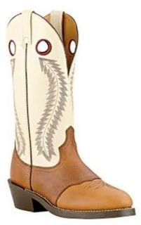 Laredo 62023 Western Cowboy Boots Tan/White, 8