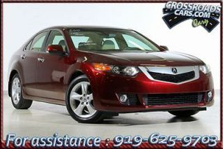 2010 Acura  on Acura   Tsx 4dr Sdn I4 Auto 2010 Acura Tsx 31k Miles Leather Htd Seats