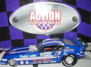 1979 BLUE MAX 1/24 ACTION DIECAST PLYMOUTH ARROW FUNNY CAR 1/7008