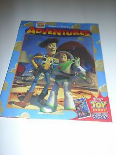 King Kids Club Adventures Activity Book   Disney Toy Story   Unused