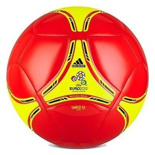 ... ADIDAS EURO 2012 GLIDE SOCCER BALL BRAND NEW COLOR ORANGE ... 75d2bb70e