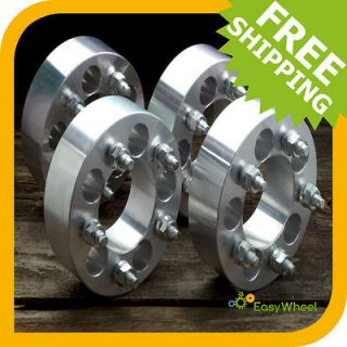 Jeep CJ Wheel Spacers Adapters 2 inch (Fits More than one vehicle)