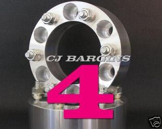 6X135 HUB TO 6 X 5 1/2 WHEEL SIDE 1.5 WHEEL ADAPTERS SPACERS 6LUG