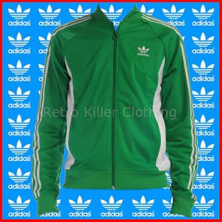 Adidas Originals Superstar Archive Sports Green TT Tracksuit Track Top