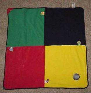 BABY EINSTEIN activity play mat or blanket teether mirror 32 x 32