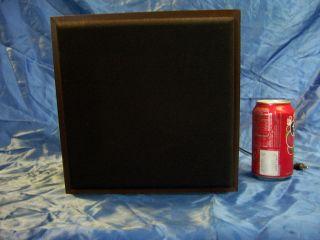 HOME MADE custom SPEAKER 6 x 4 OVAL nice wood box