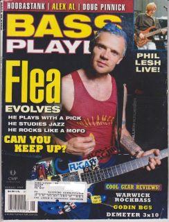 Bass Player Magazine (August 2002) Chili Pepper Flea / Phil Lesh