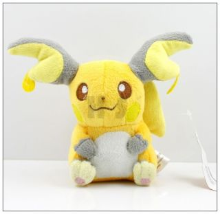 Newly listed New Pokemon 6 Raichu Plush Toy Doll Cute