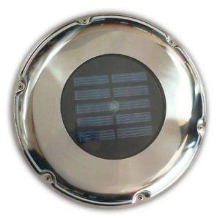 NEW Sunforce 81300 Stainless Steel Solar Vent