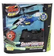 TRACER FIRE SharpShooter Air Hogs HELICOPTER Remote Control R/C Plane
