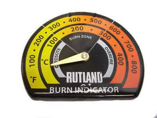 RUTLAND 701 MAGNETIC WOOD STOVE / PIPE THERMOMETER