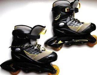SATELLITE BLADERUNNER INLINE SKATES Shoes Boys Girls Size 4   7