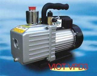 2Stage Rotary Vane Deep Vacuum Pump 2.8CFM HVAC Bagging Tool