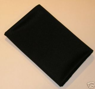 HIGH QUALITY SPEAKER GRILL CLOTH BLACK