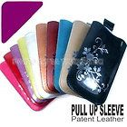 Color Patent Leather Case Pouch For LG Optimus One P500 S LS670 T P509