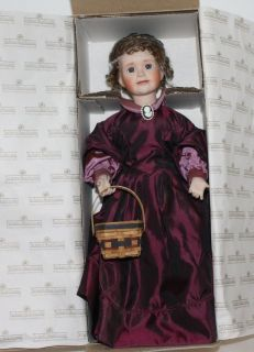 Ashton Drake 1995 Marmee Doll Little Women Series #2995 A