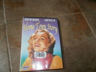 Home Town Story  Alan Hale Jr. Donald Crisp, Marilyn Monroe  DVD New