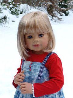 Masterpiece ♥ Skye ♥ Monika Levenig 34 Blonde All Vinyl Doll