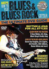 HOW TO PLAY BLUES & BLUES ROCK GUITAR   GUITAR DVD