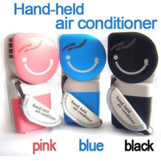 Portable Hand Held Air Conditioner Cooler Cooling Fan for Laptop PC