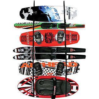 Kwik Tek LR 1 Airhead Ladder Rack Wakeboard Kayak Water Ski Paddle