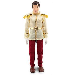 DISNEY CLASSIC CINDERELLA THE PRINCE CHARMING DOLL 12 H NEW WITH BOX