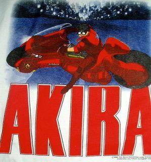 AKIRA TETSUO BLACK T SHIRT SIZE XL ANIME 2 SIDES! JAPAN FASHION VICTIM