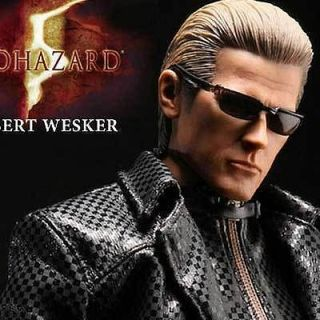 HOT TOYS BIOHAZARD 5 ALBERT WESKER MIDNIGHT RESIDENT EVIL FIGURE ES