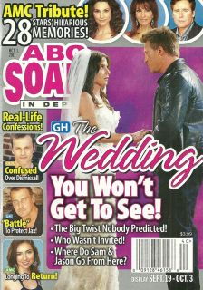 Kelly Monaco, Steve Burton, All My Children   October 3, 2011 ABC