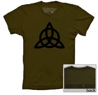 LED ZEPPELIN T SHIRT JOHN PAUL JONES SYMBOL INSPIRED HEAVY METAL