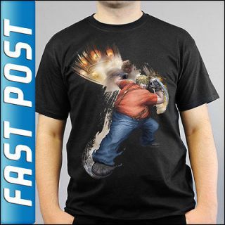 Street Fighter X Tekken Xbox 360 PS3 Bob Black T shirt All Sizes