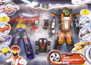 Power Rangers Exclusive RPM High Octane & Valve Max Megazord Gift Set