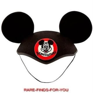 Classic Mickey Mouse Club Mouseketeer Ear Hat Disney Theme Parks