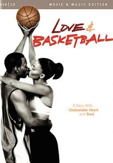 Love and Basketball (DVD, 2008, DVD ONLY, NO CD) FREE POPCORN