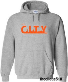 Kinsfolk San Francisco Hoodie Sweater BLACK Orange SF Giants SFC The