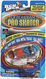 Deck Toy Machine ELISSA STEAMER Tony Hawk Pro Skater Board Fingerboard