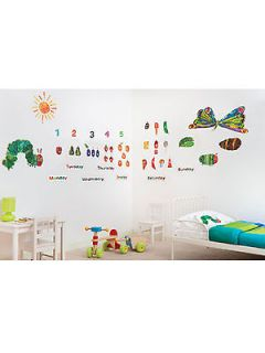 The Very Hungry Caterpillar 49 Giant Wall Stickers New (FREE P+P)