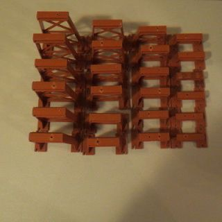 American Flyer Trains 24 Piece Graduated Trestle Set #A Minor Flaws